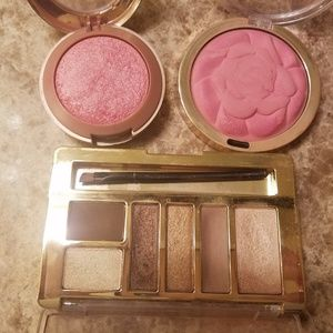 Milani assorted blushes and eye palette